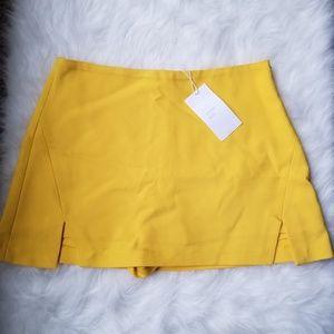 Yellow Zara Skort (Trafaluc Collection)